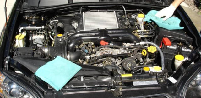 Ford-truck-how-to-clean-engine
