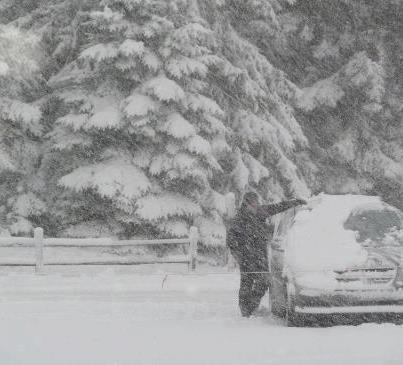 snowoncar