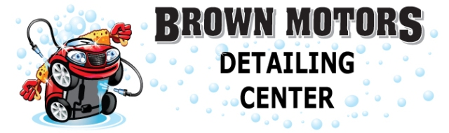 Brown Motors auto detailing center helps protect your vehicle