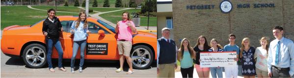 Brown Motors helps Petoskey High School sport teams raise money