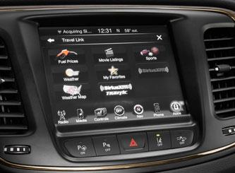 Stay connected with Chrysler's new UConnect